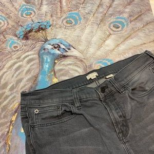 J. Crew Gray Skinny Jeans Size 29